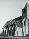 AB_KERKPLEIN_008 De Dorpskerk van Abbenbroek uit de vijftiende eeuw; ca. 1950