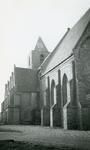AB_KERKPLEIN_009 De Dorpskerk van Abbenbroek uit de vijftiende eeuw; ca. 1950