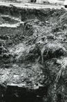 AB_KOMWEISINGEL_003 Opgraving van de fundamenten van de vroegere woontoren van Abbenbroek; 16 februari 1968