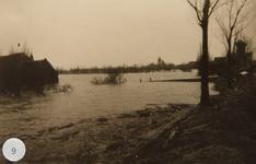 AB_WATERSNOODRAMP_049 Boerderij van J. Beukelman aan de Gemeenlandsedijk Zuid; ca. 4 februari 1953