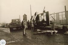 AB_WATERSNOODRAMP_061 De bouw van de noodsecretaris; februari 1953