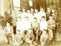 BR_SCHOLEN_AMBACHTSSCHOOL_023 Brielle; Klassenfoto van leerlingen van de Ambachtsschool, ca. 1925