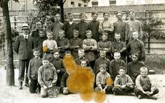 BR_SCHOLEN_AMBACHTSSCHOOL_025 Brielle; Klassenfoto van leerlingen van de Ambachtsschool, ca. 1916