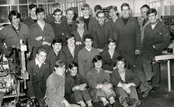BR_SCHOLEN_LTS_099 Brielle; Leerlingen in de Lagere Technische School, ca. 1968