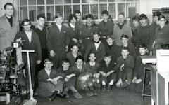 BR_SCHOLEN_LTS_100 Brielle; Leerlingen in de Lagere Technische School, ca. 1968