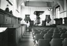 RO_WILLEMDEWAALSTRAAT_84 Rockanje; Interieur van de Hervormde Kerk, 22 augustus 1969