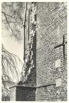 foto-18243 Herv. kerk te Schellinkhout : Steunberen in de N.W. hoek 1950, 1950
