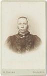 foto-19500 Portret van Gerritje Visser, 1900