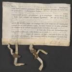 CHV-756 Brief van keurschepenen der landvierschaar te Veere. Overdracht van een huis, schuur etc. in het dorp ...