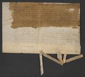 CHV-757 Brief van keurschepenen der landvierschaar te Veere. Overdracht van 165 roeden zaailand in Zanddijk in het ...