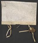 CHV-758 Brief van keurschepenen der landvierschaar te Veere. Overdracht van 1 gemet 10 roeden weiland in Vrouwenpolder ...