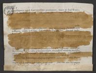 CHV-766 Brief van keurschepenen der landvierschaar te Veere. Overdracht van 13 gemeten 297 roeden land in ...