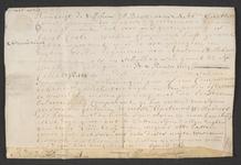 CHV-768 Brief van keurschepenen der landvierschaar te Veere. Overdracht van 1 gemet 65 roeden weiland in Schellach in ...