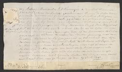 CHV-769 Brief van keurschepenen der landvierschaar te Veere. Overdracht van 282 roeden land in Zanddijkbuiten in het ...