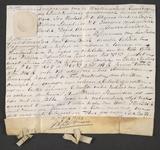 CHV-778 Brief van keurschepenen der landvierschaar te Veere. Overdracht van 2 percelen land te samen groot 2 gemeten ...