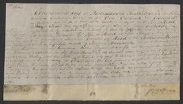 CHV-780 Brief van keurschepenen der landvierschaar te Veere. Overdracht van 3 gemeten 30 roeden weiland in ...