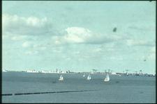 243 Gezicht op Vlissingen vanaf de kust bij Breskens