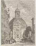 23 De Oostkerk in Middelburg gezien vanuit de Breestraat