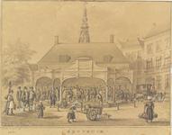 52 De Graanbeurs in Middelburg na de verbouwing van 1846