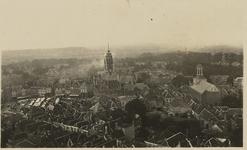 A-1609 Panorama van Middelburg, vanaf de Abdijtoren, naar het zuiden