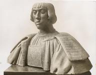 A-261 Karel V op 22-jarige leeftijd, een buste in aardewerk toegeschreven aan Coenraad Meyts.Deze ging verloren in mei ...