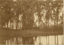B-1209I Gezicht op de Seissingel te Middelburg met het buitenverblijf Waterwijck van de familie Haman