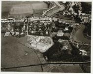 B-1305I Gezicht op de Seissingel te Middelburg en omgeving, van het westen, met het bejaardenhuis Ter Veste in aanbouw