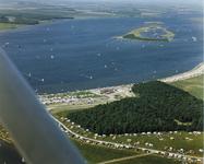 B-1917III Gezicht op het recreatiegebied Oranjeplaat aan het Veerse meer