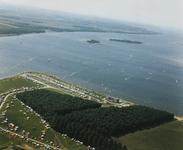 B-1917IV Gezicht op het recreatiegebied Oranjeplaat aan het Veerse meer