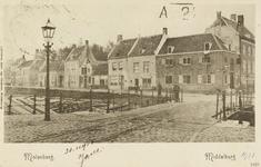 P-653 Gezicht op de Molenberg te Middelburg.