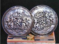 STR-17-9 1 paar zilveren broekstukken