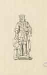 1063a Adolf van Bourgondië, overleden 7 december 1540, met zwaard