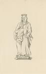 1063d Charlotte van Bourbon, tweede echtgenote van Wolfert van Borssele, met hond op de arm