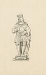 1063f Philips van Bourgondië, overleden 4 juli 1498, met zwaard
