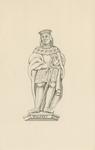 1063g Wolfert van Borssele VI(I), overleden 29 april 1486, met oorkonde in koker en zwaard