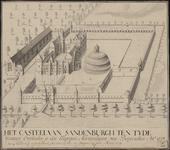 1122 Kasteel Sandenburgh te Veere bij Zanddijk