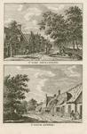 119 Twee gezichten in het dorp Grijpskerke, op 1 plaat
