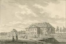 1259 Gezicht op het arsenaal te Vlissingen en omgeving, met ankers op de wal, en voorbijgangers