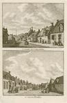 1337 Twee gezichten in het dorp Zoutelande, met baken op het duin, en personen, op één plaat