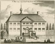 1504 Het kasteel van Willem Adriaan van Nassau la Lecq, heer van Odijk, representant van de Eerste Edele, ook genaamd ...
