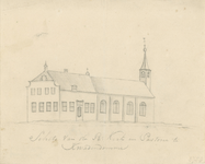 1511 De rooms-katholieke kerk en pastorie te Kwadendamme