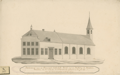 1512 De rooms-katholieke kerk en pastorie te Kwadendamme