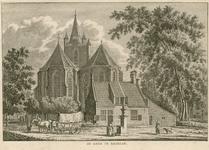 1517 Gezicht op de Nederlandse Hervormde kerk te Kapelle