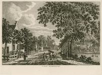 1569 Gezicht op het dorpsplein van Krabbendijke, met op de voorgrond personen