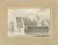 1612 Het kasteel Lodijke in de omgeving van Reimerswaal