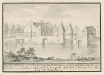 1666 Gezicht op het kasteel Muiden op de Piet te Wolphaartsdijk