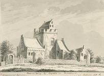 1815 Gezicht op het kasteel Zwanenburg te Capelle (Duiveland), in gebruik als hofstede