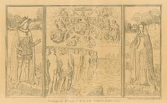 1957 Het triptiek van Philips de Schone en Johanna van Castilië, het Laatste Oordeel verbeeldend, voorheen in de ...