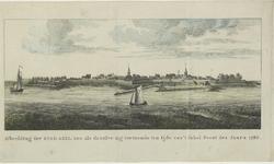 2241 Gezicht op de stad Axel, vanaf het water