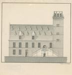 2261 Voorgevel van het stadhuis te Hulst